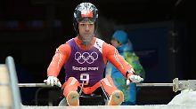"IOC-Boss: ""Perverse Marketingidee"": Rodler Bruno Banani will kein Werbegag sein"