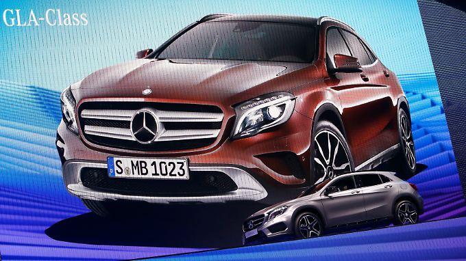 Mercedes GLA: Die neuen Modelle laufen gut.