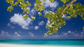 So schön ist es auf den Marshallinseln.