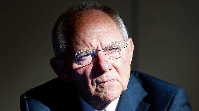 """""""Überzeugende Gründe für eine Abschaffung des Instruments als solches sehe ich nicht"""", sagt Finanzminister Schäuble."""