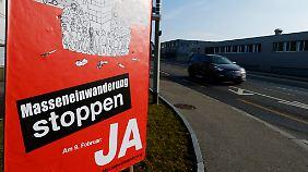 Drohender Ärger mit der EU: Schweizer stimmen über Begrenzung der Zuwanderung ab