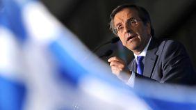 Regierungschef Ministerpräsident Antonis Samaras ist sicher, dass sein Land die gesteckten Ziele erfüllt.