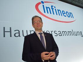 Reinhard Ploss, Vorstandsvorsitzender des Chipherstellers Infineon Technologies AG.