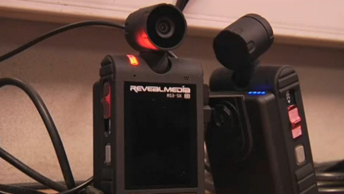 Körperkameras zeichnen Polizei-Einsätze auf