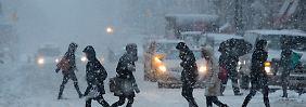 Tragischer Unfall in New York: Heftige Schneestürme treffen auf US-Ostküste