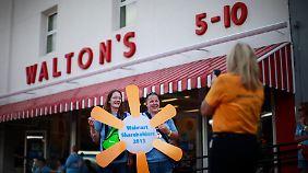 Sam Waltons erstes Geschäft in Bentonville, Arkansas.