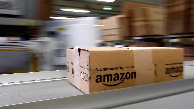 Amazon-Kunden sollen künftig auch Lebensmittel bestellen können.