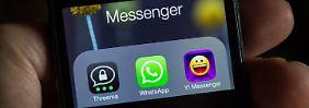 Viele verschlüsselt und kostenlos: Das sind die Alternativen zu Whatsapp