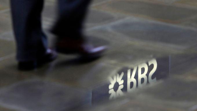 Milliardenminus, kalte Füße? Zehntausende Stellen stehen bei der RBS vor dem Aus.