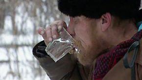 """""""Wir lieben Komasaufen"""": Wodka lässt Russen früher sterben"""