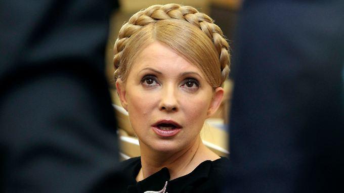 Timoschenko war 2011 in einem international kritisierten Prozess zu sieben Jahren Haft verurteilt worden.