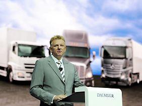 Andreas Renschler kommt vom Autokonzern Daimler.