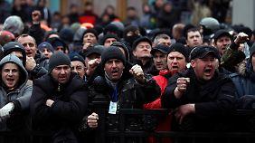 Zukunft des Landes ungewiss: Ukrainische Opposition kann sich nicht einigen