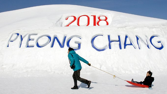 Pyeongchang will das perfekte Winter-Idyll bieten.