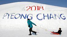 """Südkorea will Spitzen-Spiele: """"Nordkorea wird wie jedes Land behandelt """""""