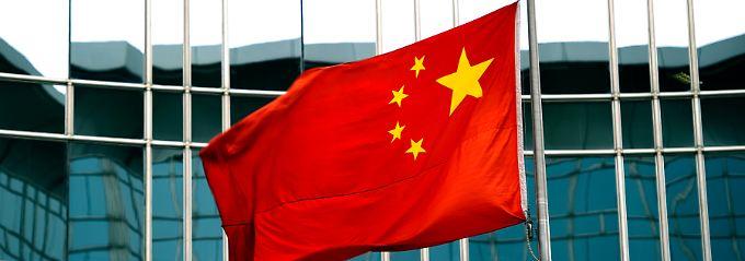 Mit der chinesischen Industrie geht es leicht aufwärts.