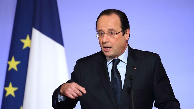 Frankreichs Präsident Francois Hollande.