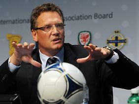 """""""Wir sind nicht für alles verantwortlich"""", sagt WM-Organisator Jerome Valcke."""