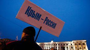 """Machtkampf um die Krim: """"Das ist russische Erde"""""""