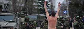 Drohungen, Warnungen, Protest: Situation auf der Krim ist extrem angespannt