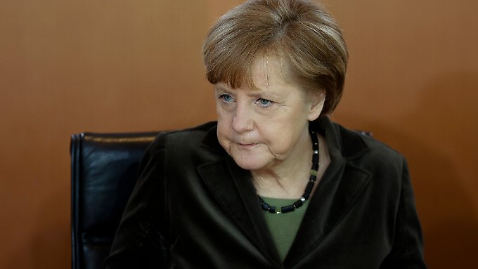 Kanzlerin Angela Merkel sieht sich zu deutlichen Worten gezwungen.