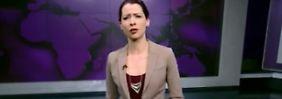Kreml-Kritik im russischen Staatsfernsehen: Moderatorin schimpft gegen Putin