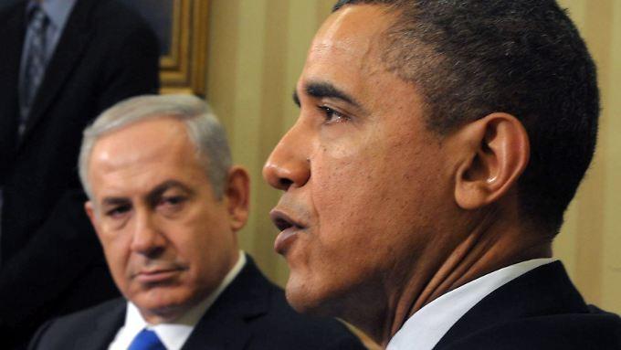 Nicht nur der Atomdeal mit dem Iran steht zwischen US-Präsident Obama und Israels Regierungschef Netanjahu.