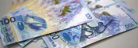 Sanktionen führen zu Kursrutsch: Rubel fällt auf neues Rekordtief