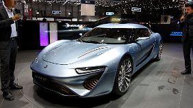 In Genf steht nicht zum ersten Mal ein Quant. Bereits 2009 gab es ein gemeinsames Projekt mit Koenigsegg.