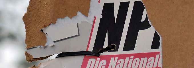 Sandrino Zießler sitzt zurzeit als Parteiloser für die NPD im Gemeinderat von Großrückerswalde. Bei der sächsischen Kommunalwahl im Mai soll er auf der CDU-Liste kandidieren. (Archivbild)