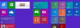 Microsofts großes Update installiert: So sieht Windows 8.1 Update 1 aus