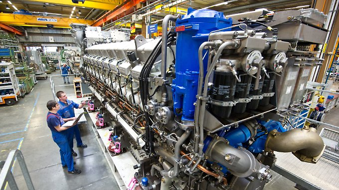 Richtig große Motoren, egal ob für LKW, Jachten, Panzer und Loks her - das sind die Produkte von MTU, später Tognum sowie RRPS