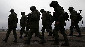 Zugang zur Krim offenbar vermint: OSZE-Vertreter werden mit Schüssen gestoppt