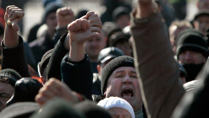 Krim vor Referendum: Stimmung in der Bevölkerung wird radikaler