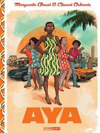 """""""Aya"""" ist bei Reprodukt erschienen, 360 Seiten im Hardcover, 39 €."""