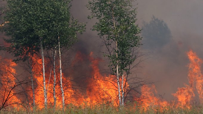 Flammen vor russischer Atomanlage: Ausbreitung radioaktiver Stoffe befürchtet
