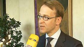 """Jens Weidmann im n-tv Interview: """"Es wäre verfrüht, das Ende der Krise im Euroraum auszurufen"""""""
