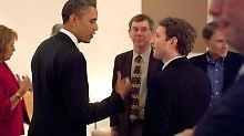 Vor der Amtsübernahme Donald Trumps warnte Barack Obama  Facebook-Chef Mark Zuckerberg vor Fake News.
