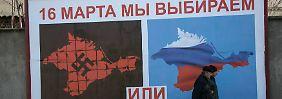 Ausverkauf vor der Krim-Abstimmung: Moskau-Börsen geraten in Panik