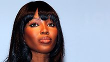 Bleibt bei ihrer Version: Naomi Campbell.