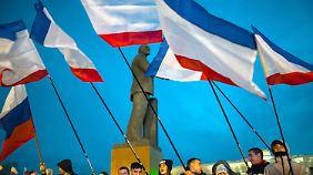 """""""Weitere Eskalation verhindern"""": EU berät über Sanktionen gegen Russland"""