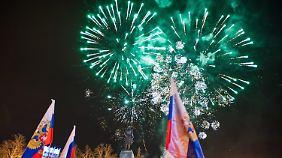 Westen verurteilt Referendum: Krim-Bewohner stimmen für Beitritt zu Russland