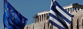 """""""Haben Versprechen gehalten"""": Troika gibt Griechen-Hilfen frei"""