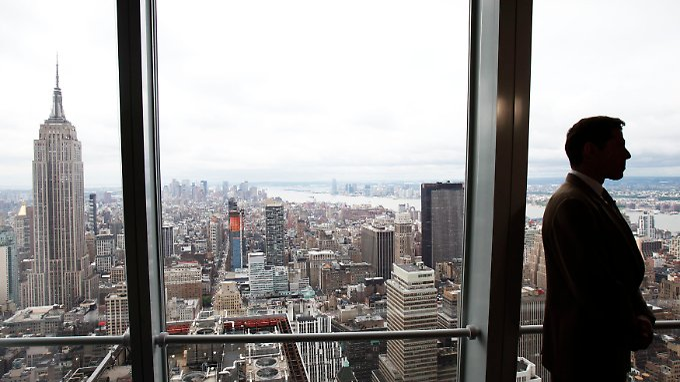 Wegschauen gilt nicht: Banken stehen unter verschärfter Beobachtung. Hier die Skyline von Manhatten mit dem Tower der Bank of America.