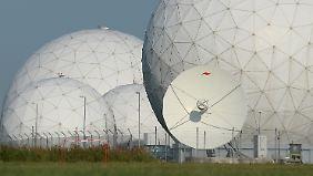 Vom amerikanischen Stützpunkt im bayrischen Bad Aibling hat die NSA gezielt mitgehört.