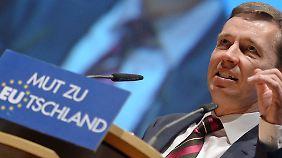 Bernd Lucke wird dem nationalkonservativen Flügel der Partei zugerechnet.
