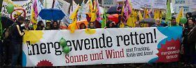 Fortsetzung statt Bremsung: Tausende demonstrieren für Energiewende