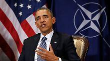 Treffen mit EU-Granden: Obama verlangt mehr von Europa
