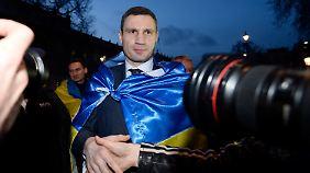 Vitali Klitschko weiß, wann er den Ring verlassen muss.