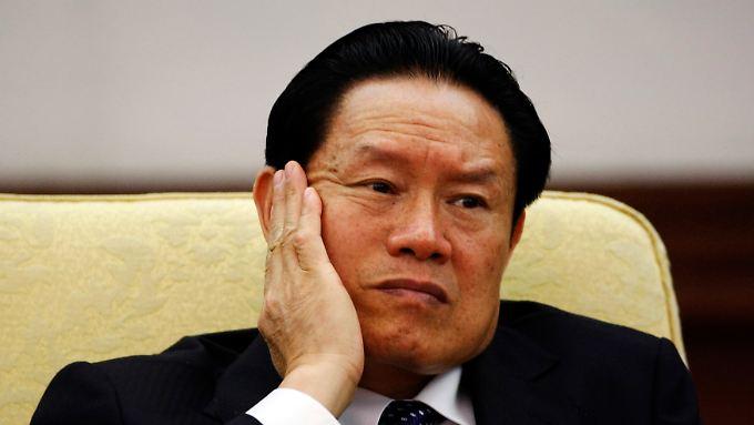 Zhou Yongkang war einst für die innere Sicherheit zuständig.